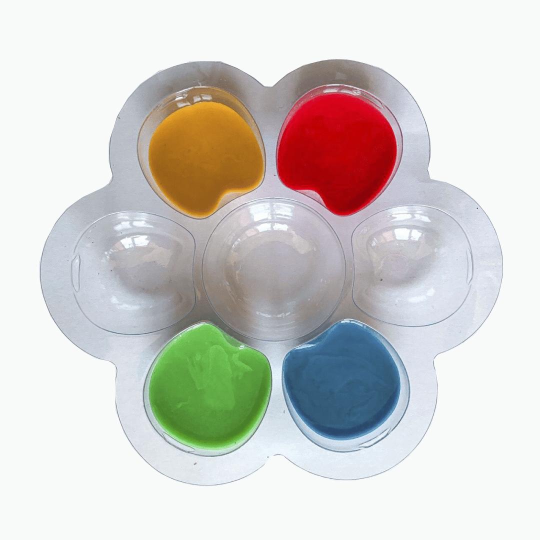 """Пальчиковые краски """"Моё первое творчество"""", 4 цвета"""